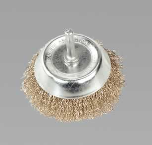 Wire Cup Brush 75mm with 6mm Shaft