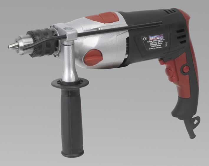 Hammer Drill 13mm 2 Mechanical/Variable Speed 1050W/230V   (AHC)