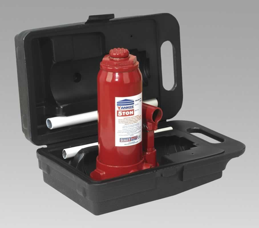 Bottle Jack Yankee 5tonne with Carry-Case