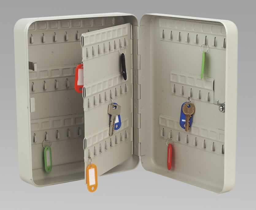 Key Cabinet with 93 Key Tags