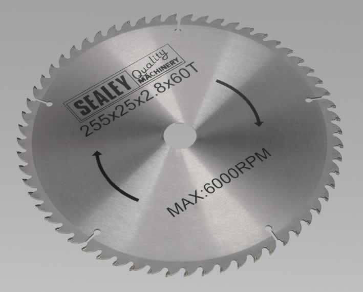 Compound Mitre Saw Blade 254 x 25.4mm 60TPU     (G)