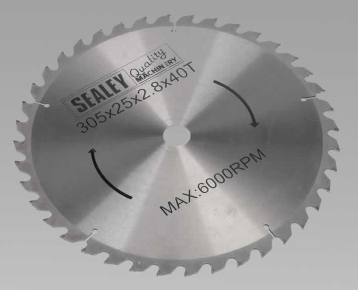 Compound Mitre Saw Blade 305 x 25.4mm 40TPU     (G)