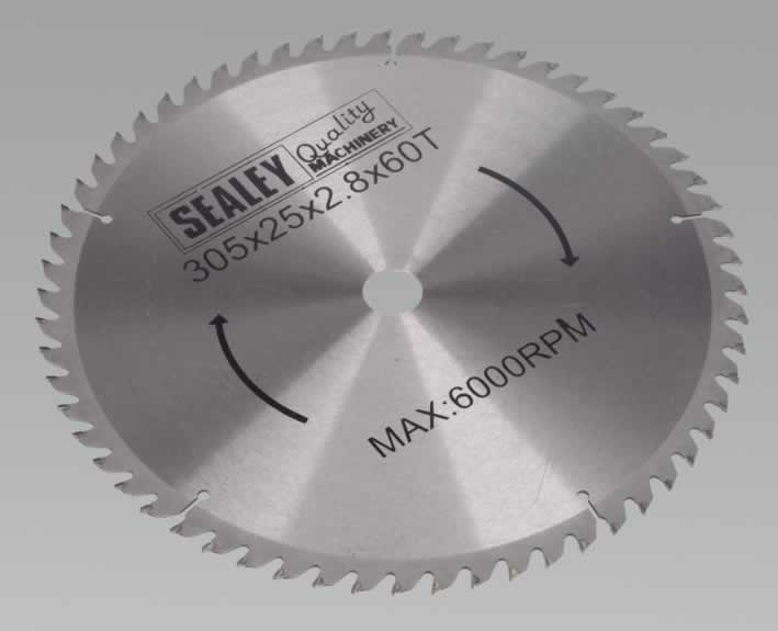 Compound Mitre Saw Blade 305 x 25.4mm 60TPU    (ah)