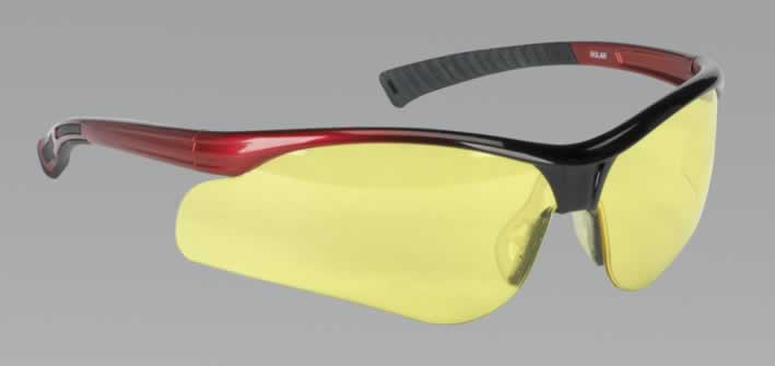 Light Enhancing Safety Spectacles