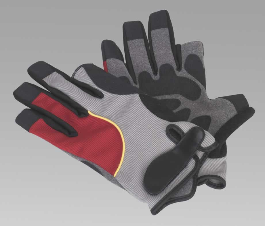 Mechanic's Tipless Gloves - X-Large