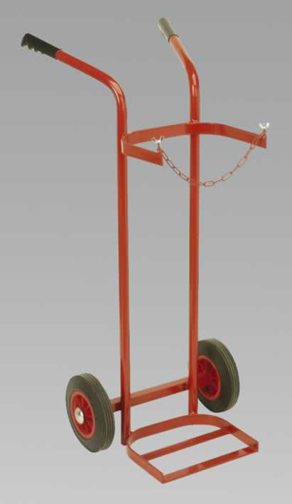 Welding Bottle Trolley - Single    (AH)