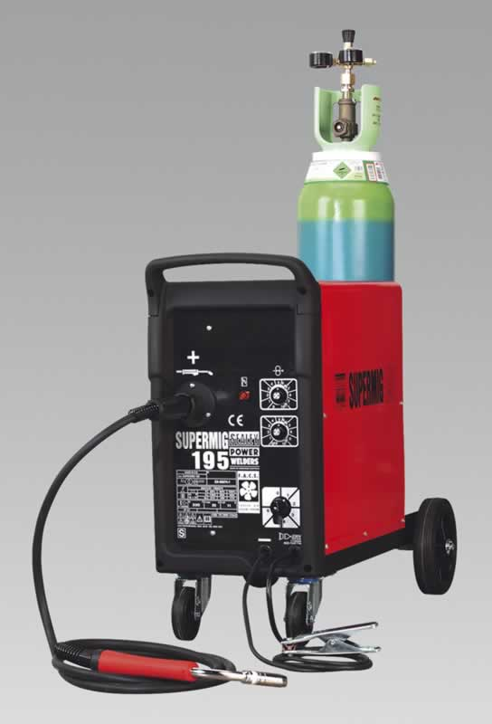 Professional MIG Welder 195Amp 230V with Euro Torch