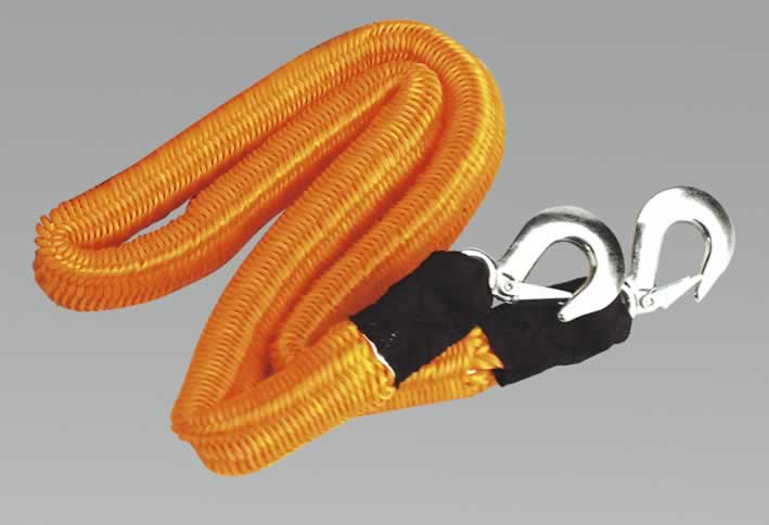 Tow Rope 2000kg Rolling Load Capacity
