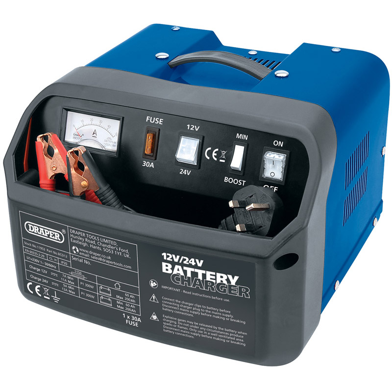 12/24V 11A Battery Charger   (aha)