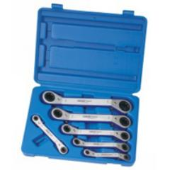 DRAPER 6 PIECE TX - STAR / TORX RATCHET RING WRENCH SET DR61230 (G)