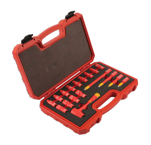 "Insulated Socket set 1/4""D 18pc  (AHc)"