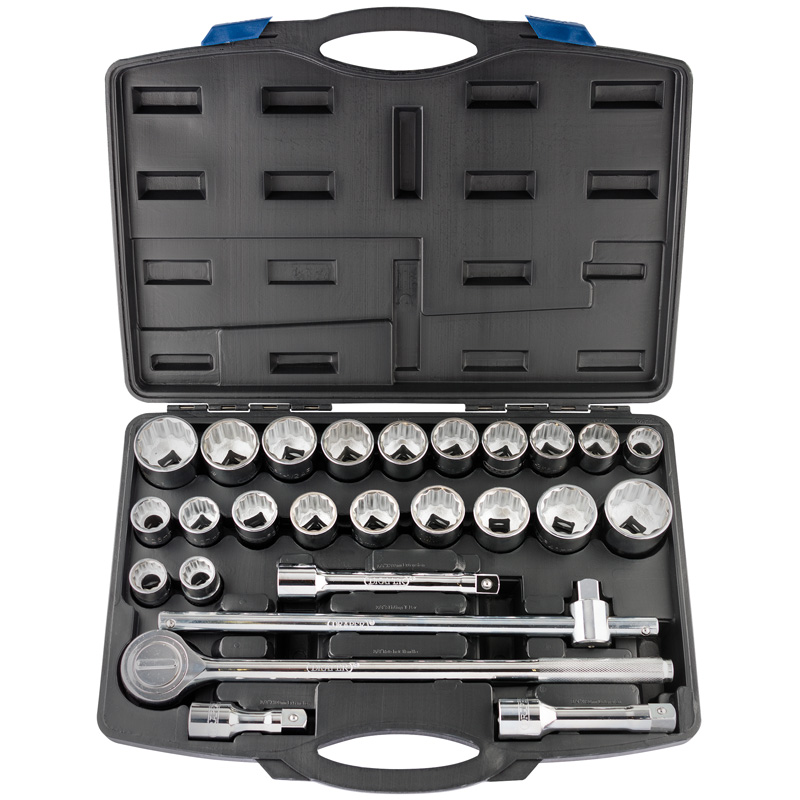 "NEW 3/4"" Sq. Dr. Combined MM/AF Socket Set (26 Piece)  (AHA)"