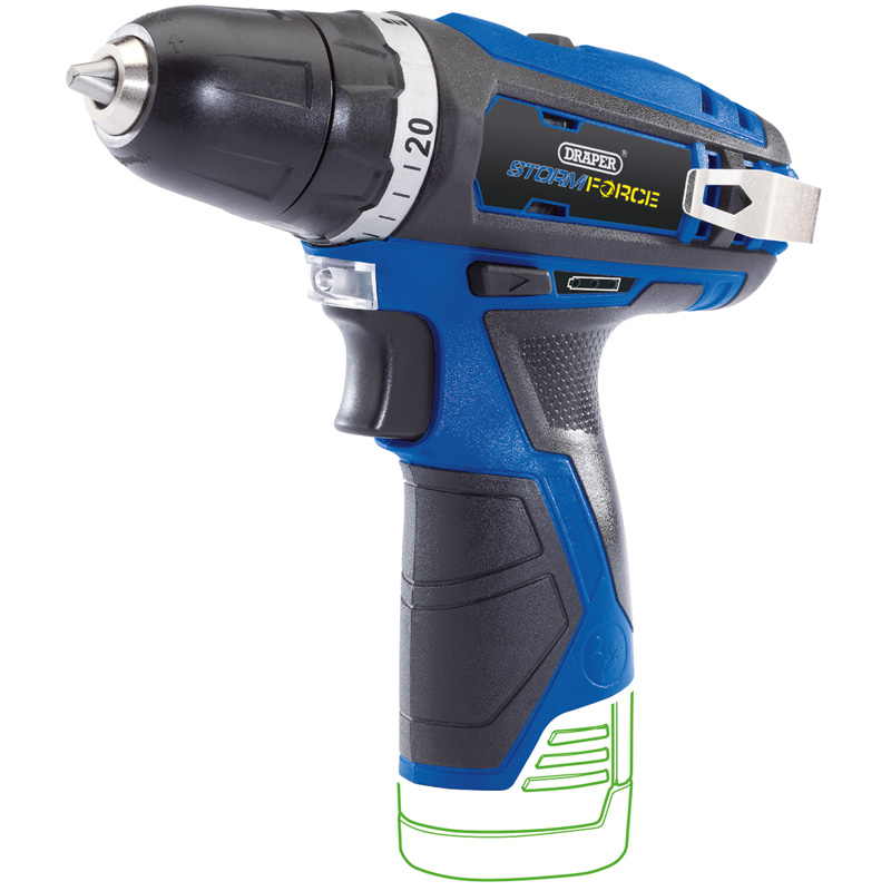 NEW Storm Force® 10.8V Cordless Rotary Drill - Bare  (471)*   (AHC)o